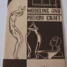 American Art Clay Co AMACO 1936 Catalog Handbook of Modeling and Pottery Craft Studio Pottery