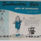 Southwestern Gifts of Distinction 1956-1957 Catalog Jewelry Dolls Tewa Indian Non-Indian