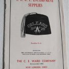 1950 Catalog IOOF Encampment Supplies Booklet E-49 Odd Fellows Fraternal Groups