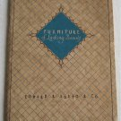 Furniture of Lasting Beauty 1927 Catalog Edward R Barto Co Seating Tables Desk Beds Maple Walnut Oak