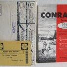 The Conrad Company 1957 Catalog Sporting Goods Fishing Equipment