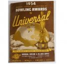 1954 World's Largest Selection of Bowling Awards by Universal Trophies Giftware Jewelry Medals