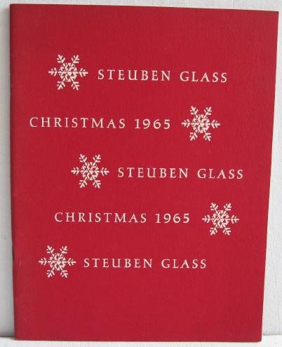 Steuben Glass Catalog Christmas 1965 Animals Figurines Bowls Vases Tumblers