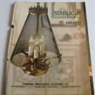 1967 Starlight Residential Lighting Catalog SL-1000 Thomas Industries Chandeliers Ceiling Fixtures