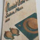 Daniel Low Co 1936 Catalog Sterling Silver Silverplate Jewelry Housewares Handbags Gifts Clocks