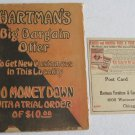 1915 Hartman's Big Bargain Offer Catalog Furniture Silver Kitchenware Ranges Baby Carriages