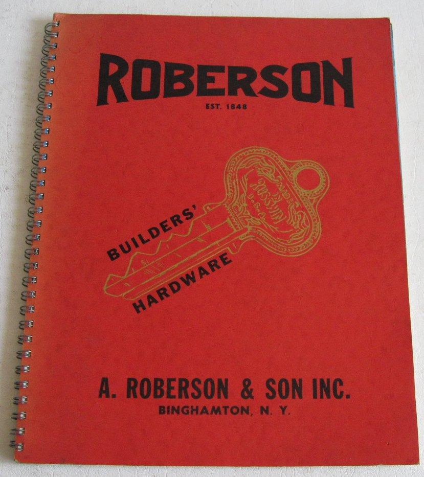 1952 Roberson Builders Hardware Catalog No.5 Tools Door Locks Keys Russwin Stanley Garage  sc 1 st  eCRATER & 1952 Roberson Builders Hardware Catalog No.5 Tools Door Locks Keys ...