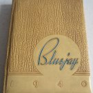1940 Bluejay Creighton University Omaha Nebraska College Yearbook Robert Cary Color Cartoons