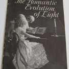Romantic Evolution of Light 1929 PGE Promotional Booklet Period Lighting Electric