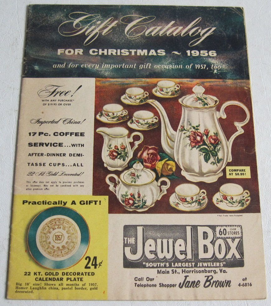 Gift catalog for christmas the jewel box boontonware