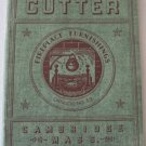 1939 Cutter Mfg Co Fireplace Furnishings Catalog No.39 Iron Brass Deco Modernist Chrome Aluminum