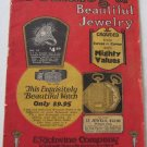 1925 Catalog Beautiful Jewelry E Richwine Co Wristwatches Musical Instruments Gifts Corodite 52 pgs