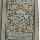 Original Geo B Haskell Co 1907 Catalog Agricultural Machinery Tools Dairy Farm Supplies Seeds 145p