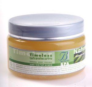 Natural Body Peeling - Dead Sea Mineral Salt Pure Minerals & Vitamin - Vanilla & Lavender Secnt