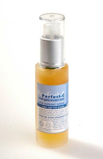Men Natural face Serum - Active Vitamin C - Anti Aging Anti Oxidant Skincare for Men - NO SLS!