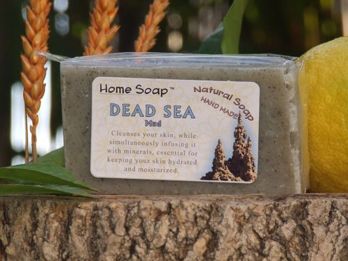 The Best Handmade Dead Sea Mud & Shea Butter Soap - 100% Natural Luxury Soap Bar