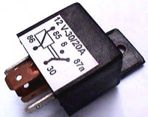 6 Nos POWER RELAY Power Relays 30A 30 amp12V Automotive 5 Pin