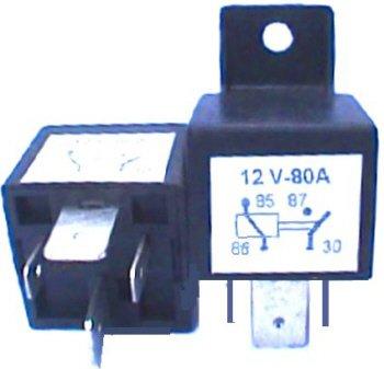 4 Nos POWER RELAY Power Relays 70A 70 amp 80A 12V Automotive 4 Pin