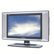 MAGNAVOX 17MD255V 17-inch Widescreen LCD TV with Integrated DVD Player