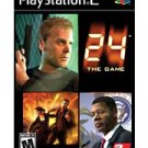 PS2 24 - The Game PS2