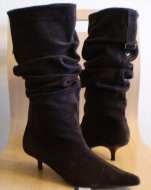 Steve Madden Ruri Suede Boots Heels Shoes New 7
