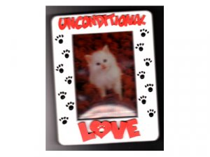 Unconditional Love Photo Frame