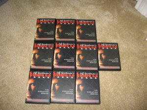Kenpo 5.0 Karate Jeff Speakman White to Black Belt 10 DVDs Set