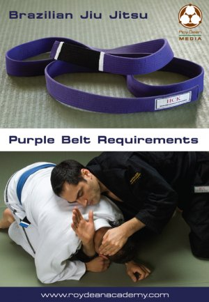 BJJ Purple Belt Requirements 2 DVD Set by Roy Dean