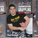 No-Gi Submission Grappling 3 DVD set by Rigan Machado