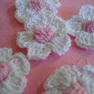25 pcs Crochet Daisy Flower