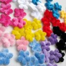 "100pcs Soft Velvet 1/2"" Small Flower"