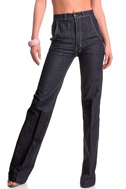 High-Waisted 18th Amendment Jeans