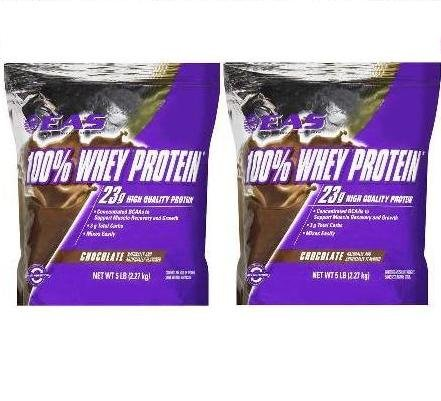 EAS 100% Whey Protein Chocolate - 10 LBs