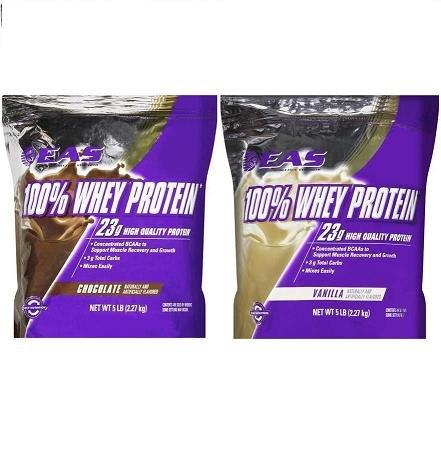 EAS 100% Whey Protein Chocolate & Vanilla - 10 LBs