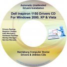 Dell Inspiron 1150 Drivers Restore Recovery DVD