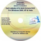 DELL Latitude ATG D620 Driver Recovery  Disc CD/DVD