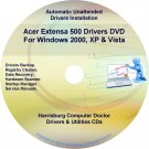 Acer Extensa 500 Drivers Restore Recovery CD/DVD