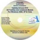Toshiba Mini NotebookDrivers Recovery Master DVD