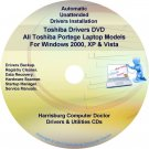 Toshiba Portege Laptop Drivers Recovery Master DVD