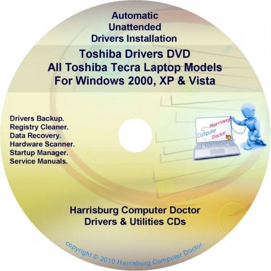 Toshiba Tecra Laptop Drivers Recovery Master DVD