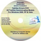 Toshiba Qosmio Laptop Drivers Recovery Master DVD