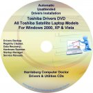 Toshiba Satellite Laptop Drivers Recovery Master DVD