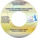 Toshiba Tecra A8-EZ8413 Drivers Restore Recovery DVD