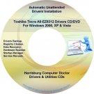 Toshiba Tecra A8-EZ8312 Drivers Restore Recovery DVD
