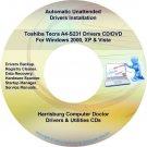 Toshiba Tecra A4-S231 Drivers Restore Recovery DVD