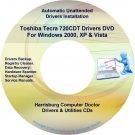 Toshiba Tecra 720CDT Drivers Restore Recovery CD/DVD