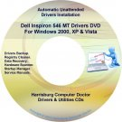 Dell Inspiron 546 MT Drivers Restore Recovery DVD