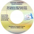 Dell Inspiron 400 Drivers Restore Recovery DVD
