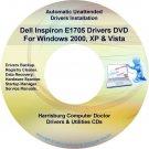 Dell Inspiron E1705 Drivers Restore Recovery DVD