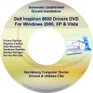 Dell Inspiron 8600 Drivers Restore Recovery DVD
